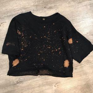 Sweater crop top!
